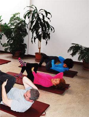 people doing feldenkrais